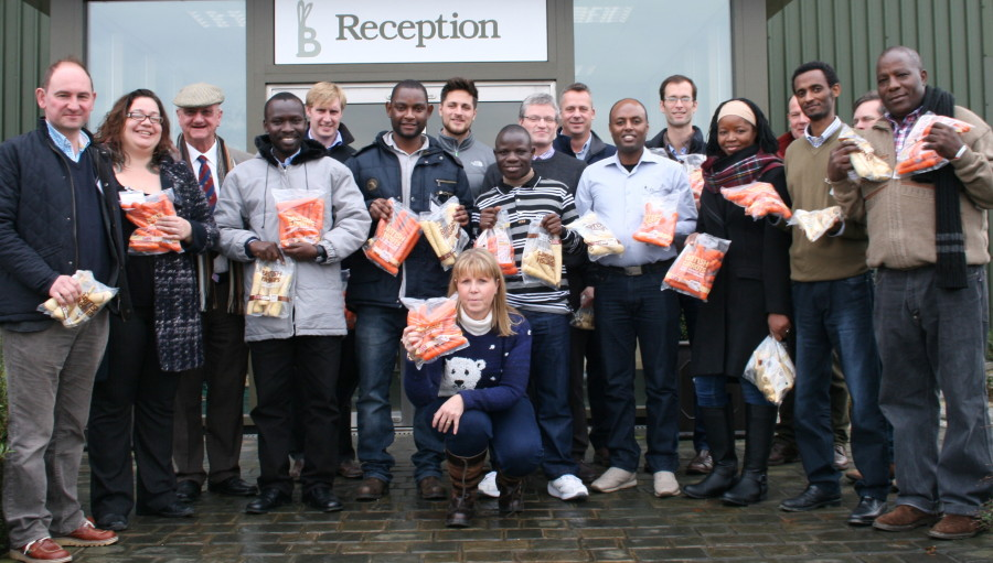 Leading UK vegetable manufacturer teaches international students the secrets to success
