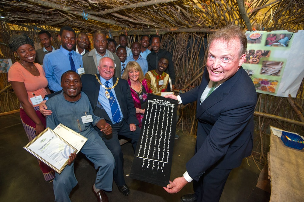 International charity brings a 'Taste of Africa' to the East of England
