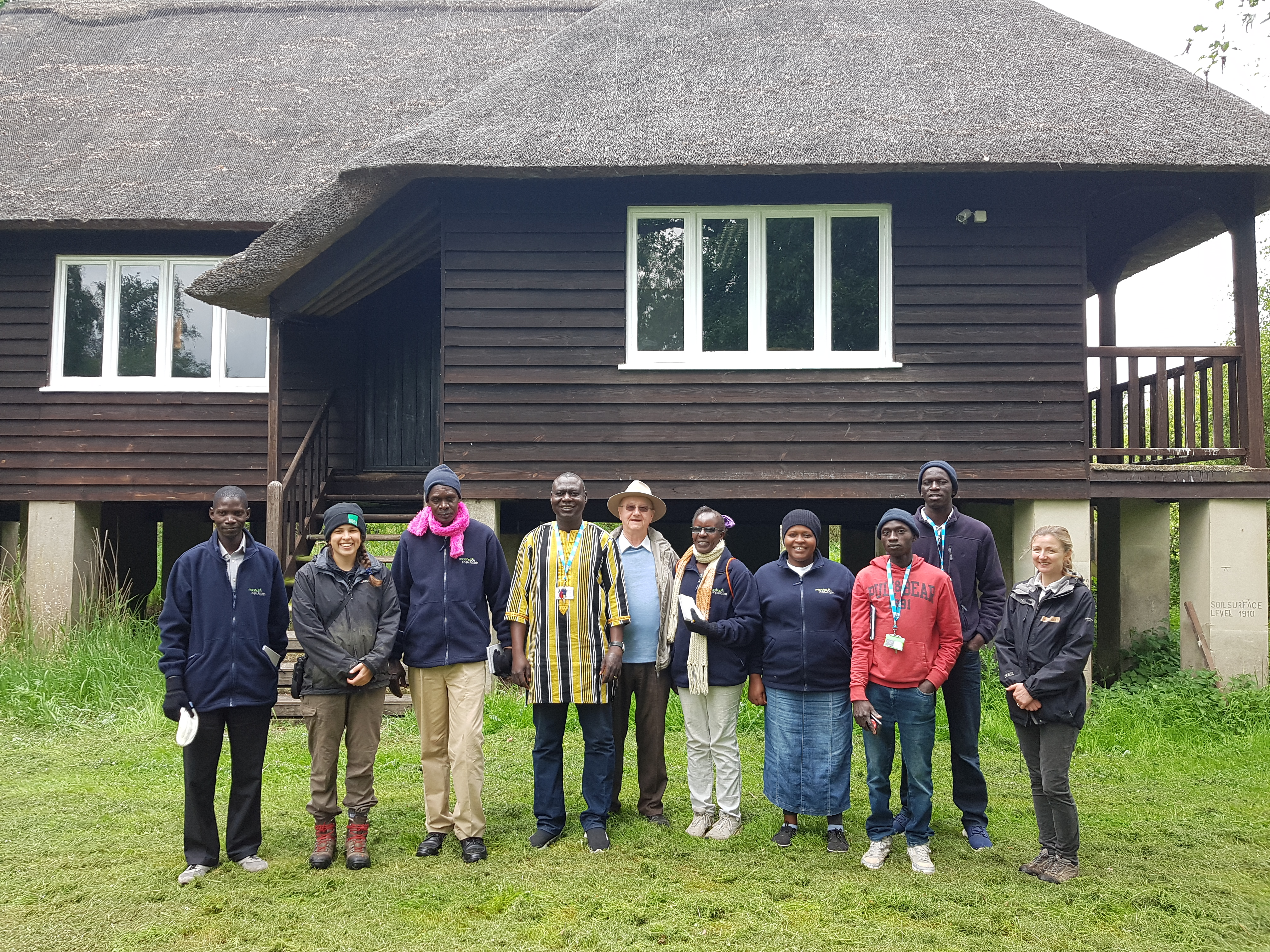 Students from Africa discover the Great Fen Project