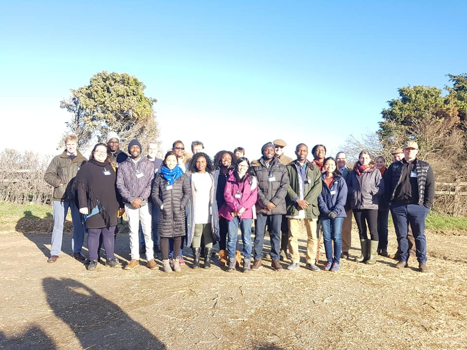 International Masters scholarship students discover 'farm to fork'
